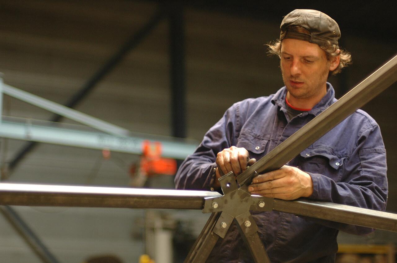 Metaalbedrijf, staal op maat