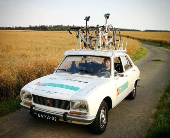 fietsen vervoeren op dak