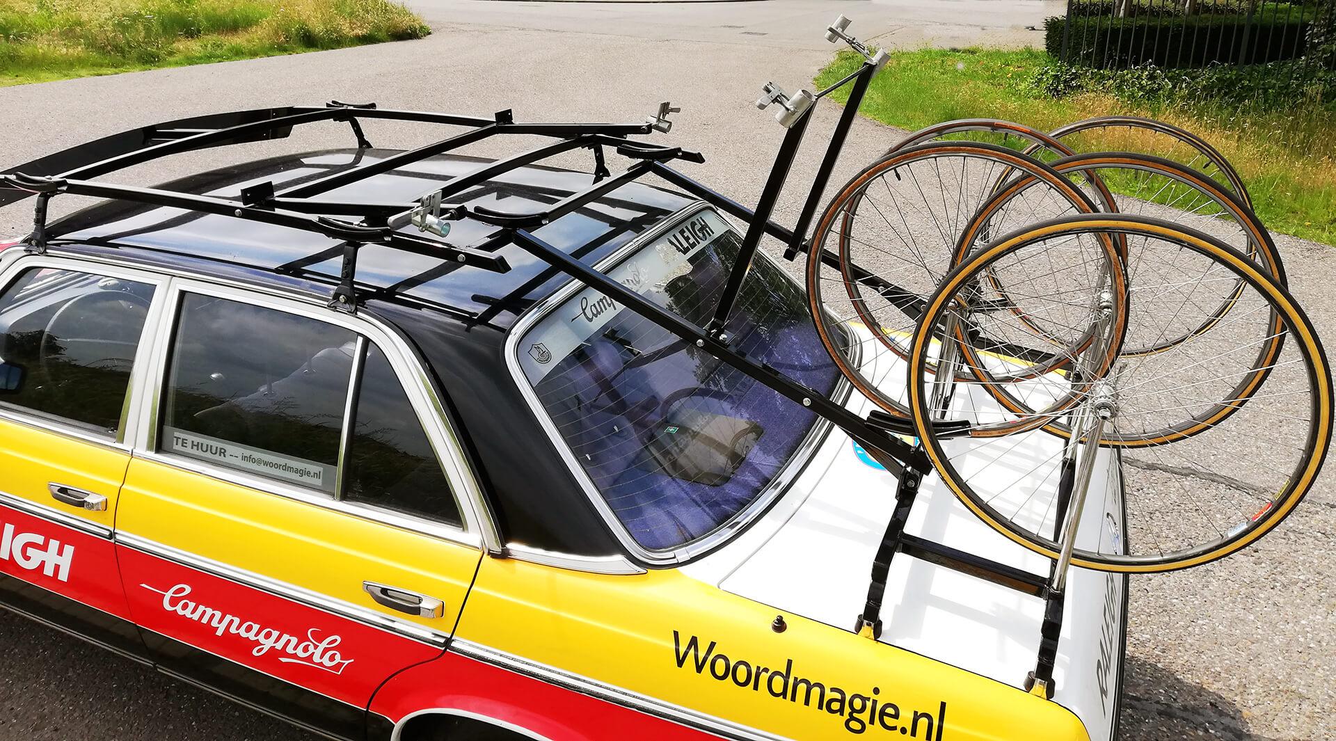 Retro fietsendrager voor racefietsen